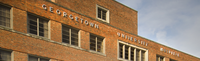 Image of exterior of Georgetown University Hospital